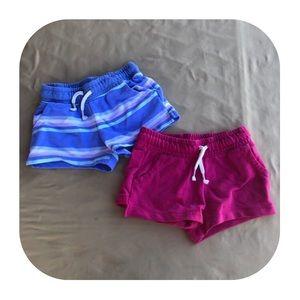 2 Cat & Jack Shorts Girls 5T